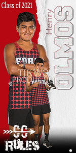 3X6 HENRY OLMOS Fort Cross Country Banner
