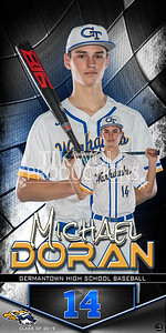 3X6 Michael Doran Banner