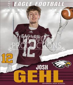 36X42  Josh Football Banner 21