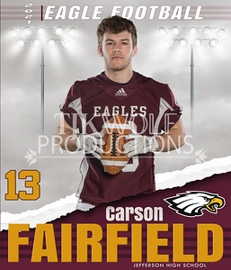 36X42 Carson Football Banner 21