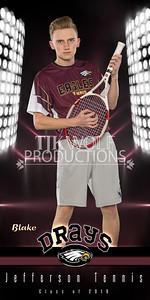 30X60 Blake Drays Tennis Banner