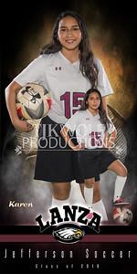 30X60 Karen Limon Soccer Banner