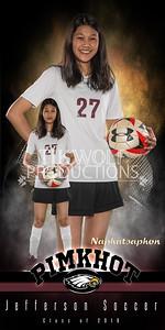 30X60 Naphatsaphon Pimkhot Soccer Banner