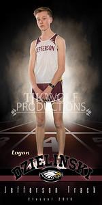 30X60 Logan Dzielinski Track Banner