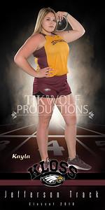 30X60 Kayla Kloss Track Banner