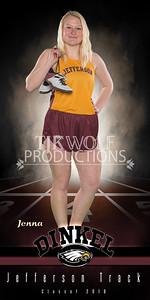 30X60 Jenna Dinkel Track Banner