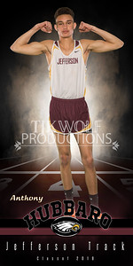 30X60 Anthony Hubbaro Track Banner