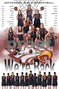 Jefferson Girls Basketball Poster