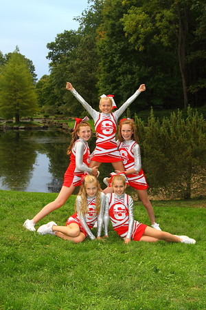 2012 Biddy League Cheerleaders