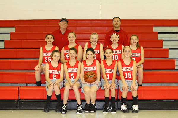 2012 Somerset 6th Grade Girls Basketball
