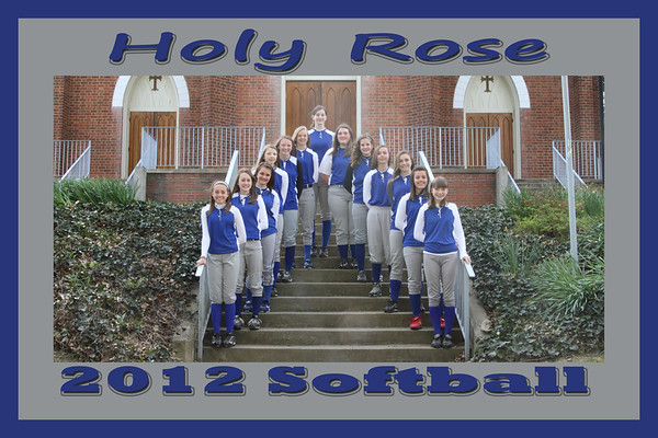 2012 Holy Rose Softball