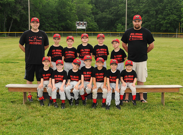 All Stars-n-Stitches Muckdogs