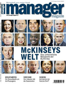 "April 23, 2012. Germany's Manager Magazin. ""McKinsey's Welt""<br /> 2012年4月23日,《德国经理人》 ""麦肯锡世界"""