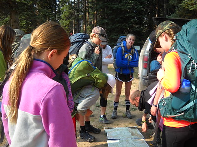 Team Margy's Hut: Middle School Outdoor Ed 2017