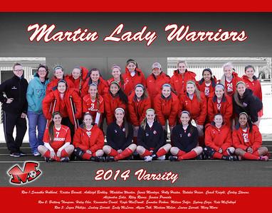 2014 Varsity Team Photo