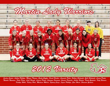 2012 Varsity Team Photo