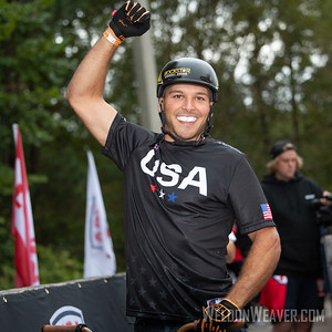 Nick Bruce. 2019 BMX Freestyle Continental Championships.  Cary, NC. USA. Photo by Weldon Weaver.