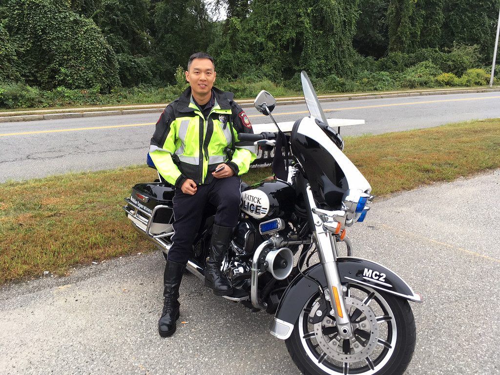 . Natick police Officer Toan Nguyen