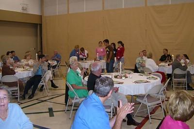 Hunting Creek banquet