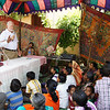 SOAR Team in India conducting a class with Kerela Christian Mission 2013.
