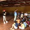 SOAR team from First Christian Church Cumming teaching kids in Honduras.