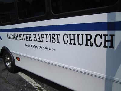 Clinch River Baptist Church, TN 7.26.11