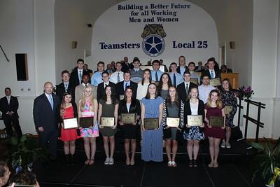 Teamsters Local 25 Scholorship Awards - May 20, 2018