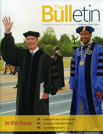 Johnson C Smith - The Bulletin Summer Fall 2012   mac330.com