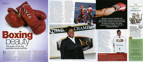 Pride Magazine - Bellonora McCallum - Women's Issue March April 2013