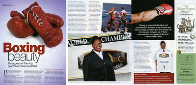 Pride Magazine - Bellonora McCallum - Women's Issue March April 2013