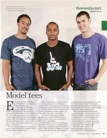 This shoot was for Pride Magazine's 10 Men on the Move Issue 2010. Jon Strayhorn