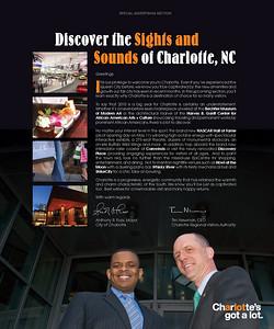 Mayor Anthony Foxx & Tim Newman of CRVA photoshoot for Charlotte's-Got-A-Lot ad in Uptown Magazine Jon Strayhorn