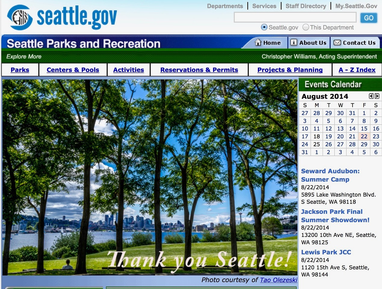 Seattle.gov 2014