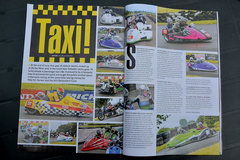 Motorcycle Racer , August 2014