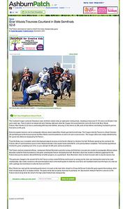 2010-12-04 -- Briar Woods Trounces Courtland in State Semifinals 52-8 - Ashburn, VA Patch