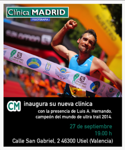 Luis Alberto Hernando - Clinica Madrid Promotion