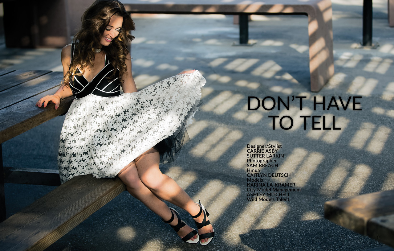 """""""I Don't Have to Tell"""" as published in 7Roar Magazine http://wp.7roarmagazine.com/"""