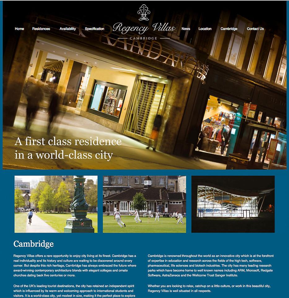 Regency Villas Property Brochure, Adrenaline Creative