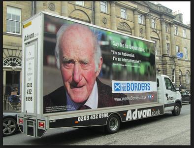 Vote No Borders Marketing Campaign for Scottish Referendum 2014