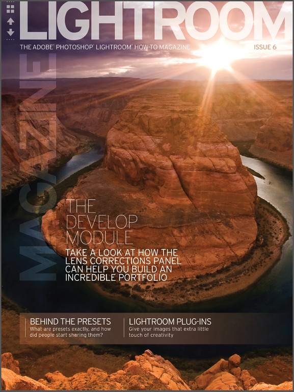 Lightroom Magazine Issue 6 - Cover Photo