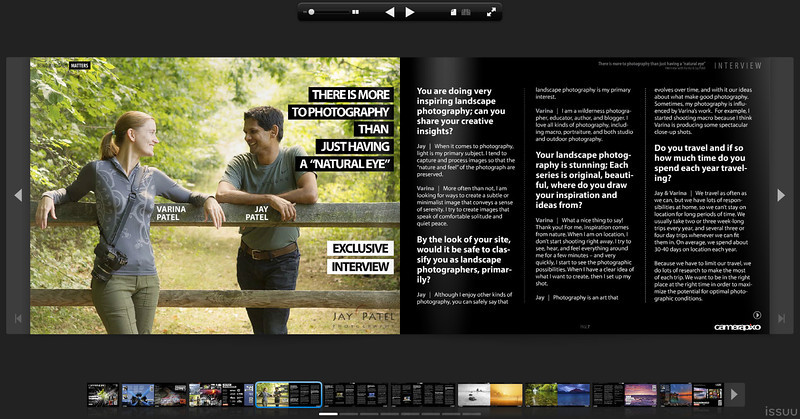 Camera Pixo Magazine - Interview with Varina and Jay Patel