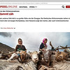 Spiegel.de, the online editorial of Germany's iconic magazine Der Spiegel has featured a  photo story from the ongoing project Sans terre. The story talks of nomadic shepherdess of Hanle valley, ladakh.