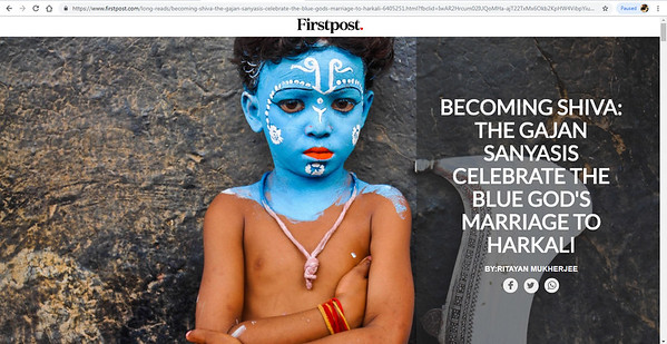 https://www.firstpost.com/long-reads/becoming-shiva-the-gajan-sanyasis-celebrate-the-blue-gods-marriage-to-harkali-6405251.html?fbclid=IwAR1yXK_wlKXp8Eda_UzLGeSOPE4QYpAiZFybl3rQY8a_fTfM_MN2HjOf6cg