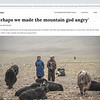 UNDP - 'Perhaps we made the mountain god angry'