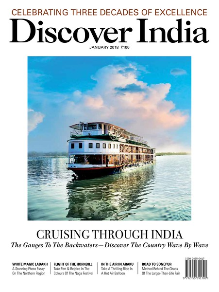 Cover Shoot : Discover India Magazine. January issue