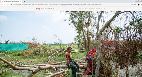 Cyclone Amphan  Coverage on Sundarban
