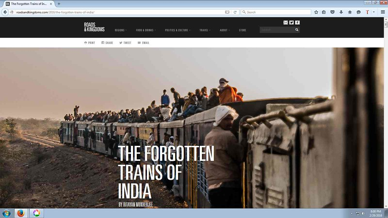 THE FORGOTTEN TRAINS OF INDIA