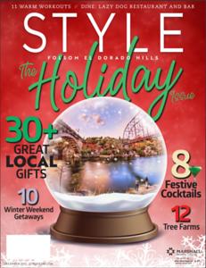 Folsom Bridges: Cover for Style Magazine
