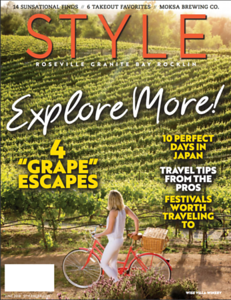 Cover for Style Magazine