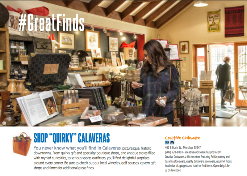 Shopping Guide for Calaveras Tourism